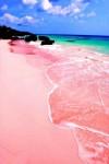 Розовият плаж, Бахамски острови